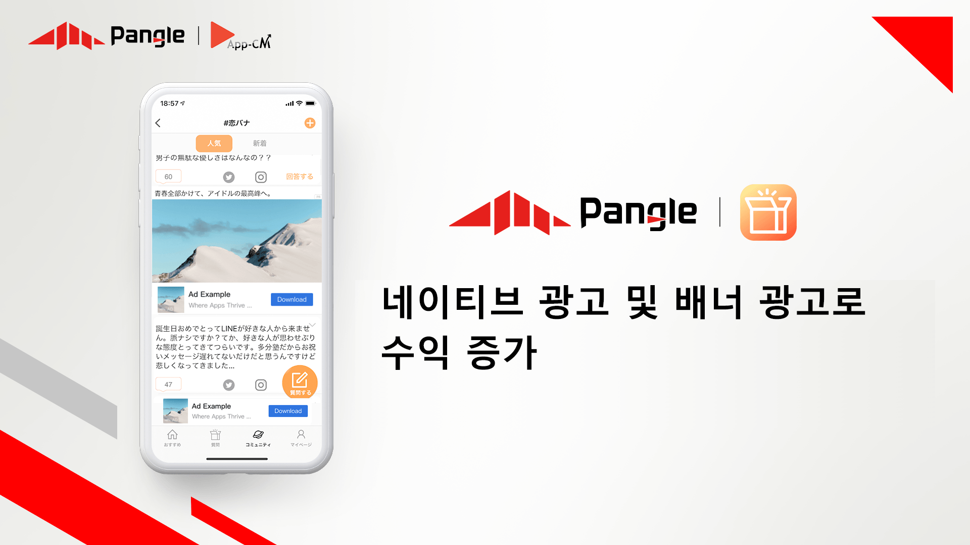 App-CM, 팽글과 세계를 재창조하고 수익을 개선하다 - BoxFresh