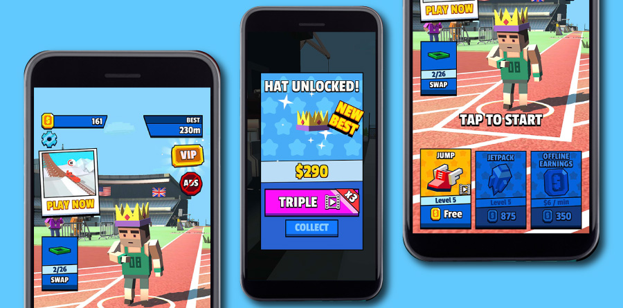 【収益化事例】人気ゲーム『Jetpack Jump』にリワード動画広告を導入、ARPDAUを2倍にしたKwalee